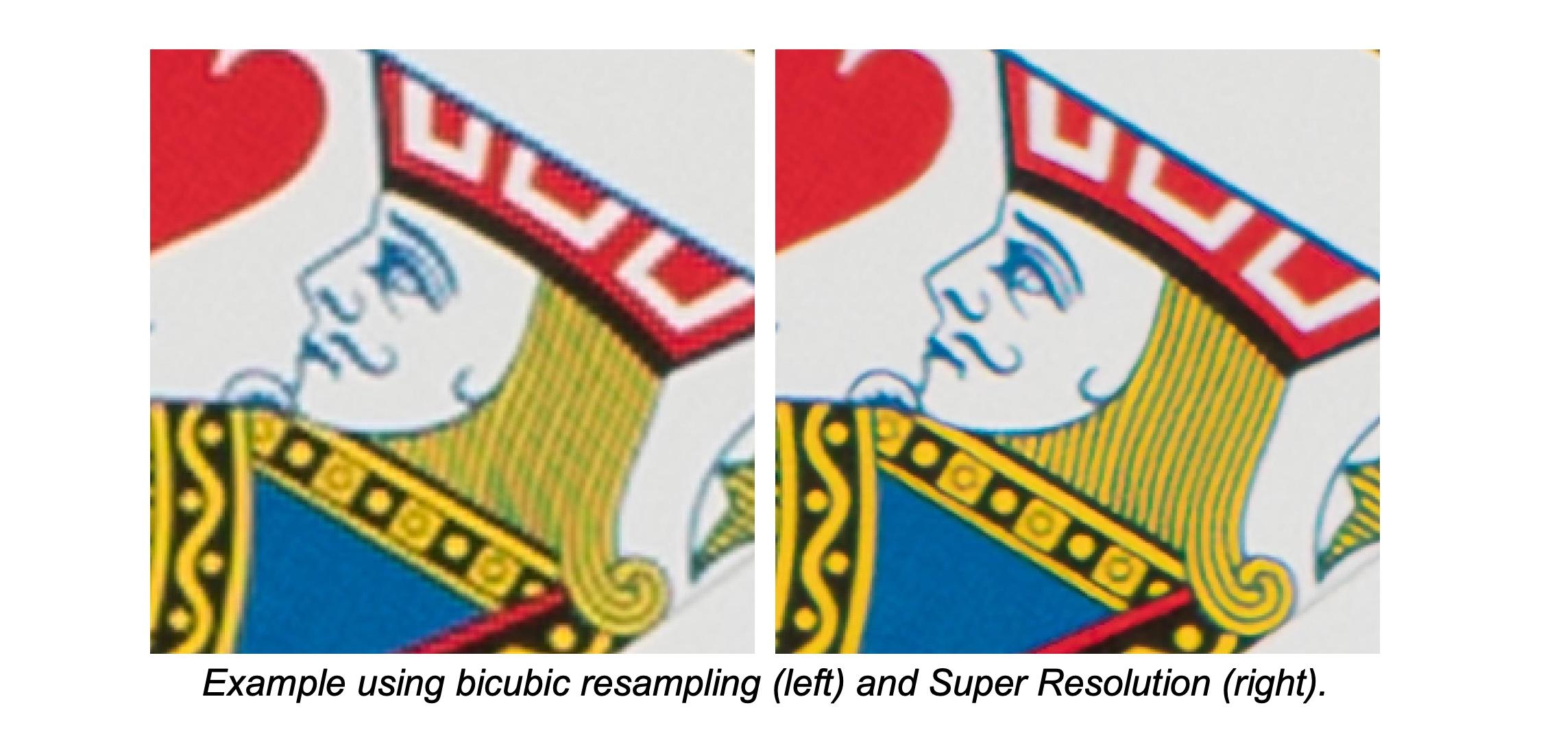 Adobe's Super Resolution comparison photo