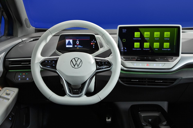 volkswagen id 4 crossover electric