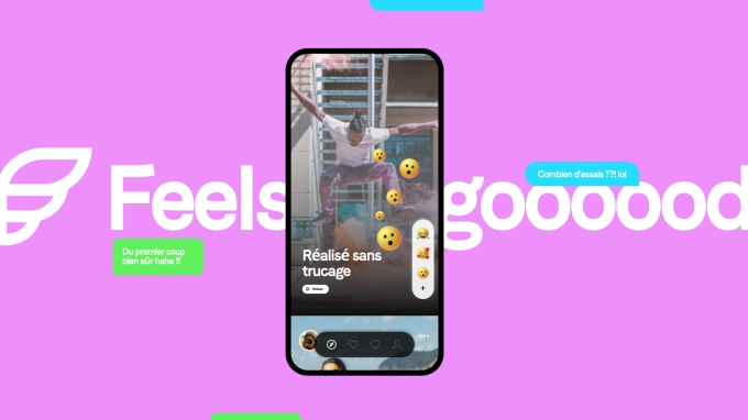 A screenshot of the app Feels
