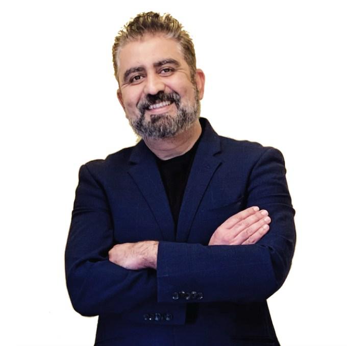 A photo of Macrometa co-founder and CEO Chetan Venkatesh